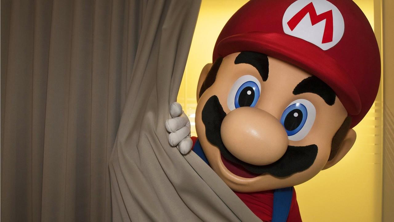 Super Mario Reveal