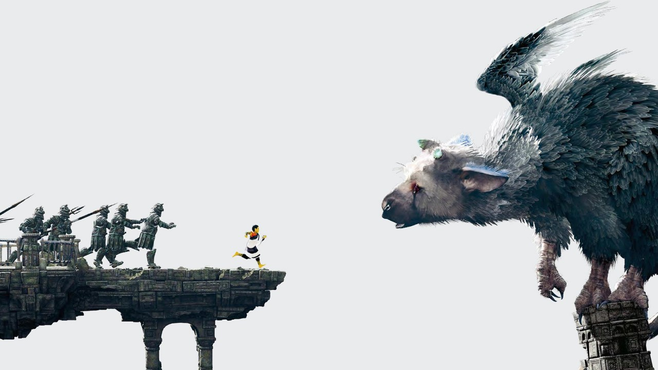 The Last Guardian Main Art