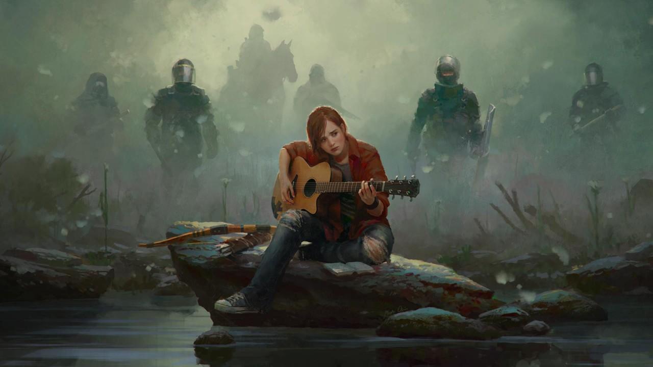 The Last of Us: Ellie con la chitarra