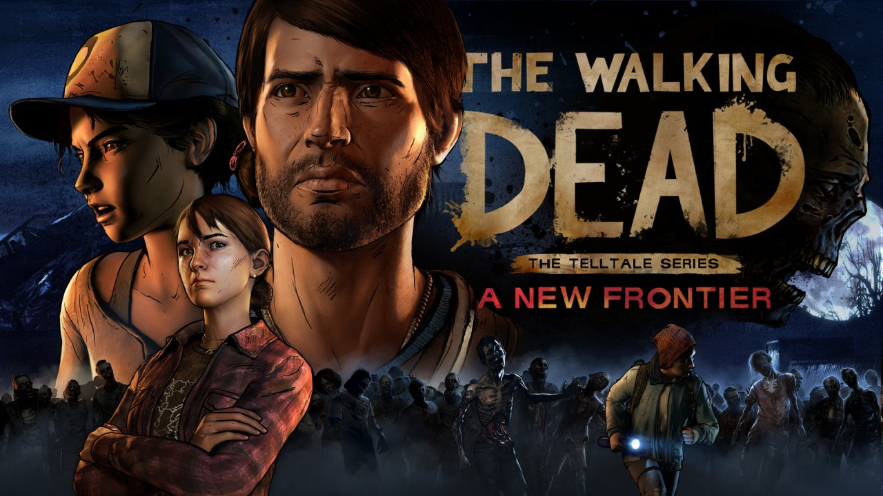 The Walking Dead 3 key art logo