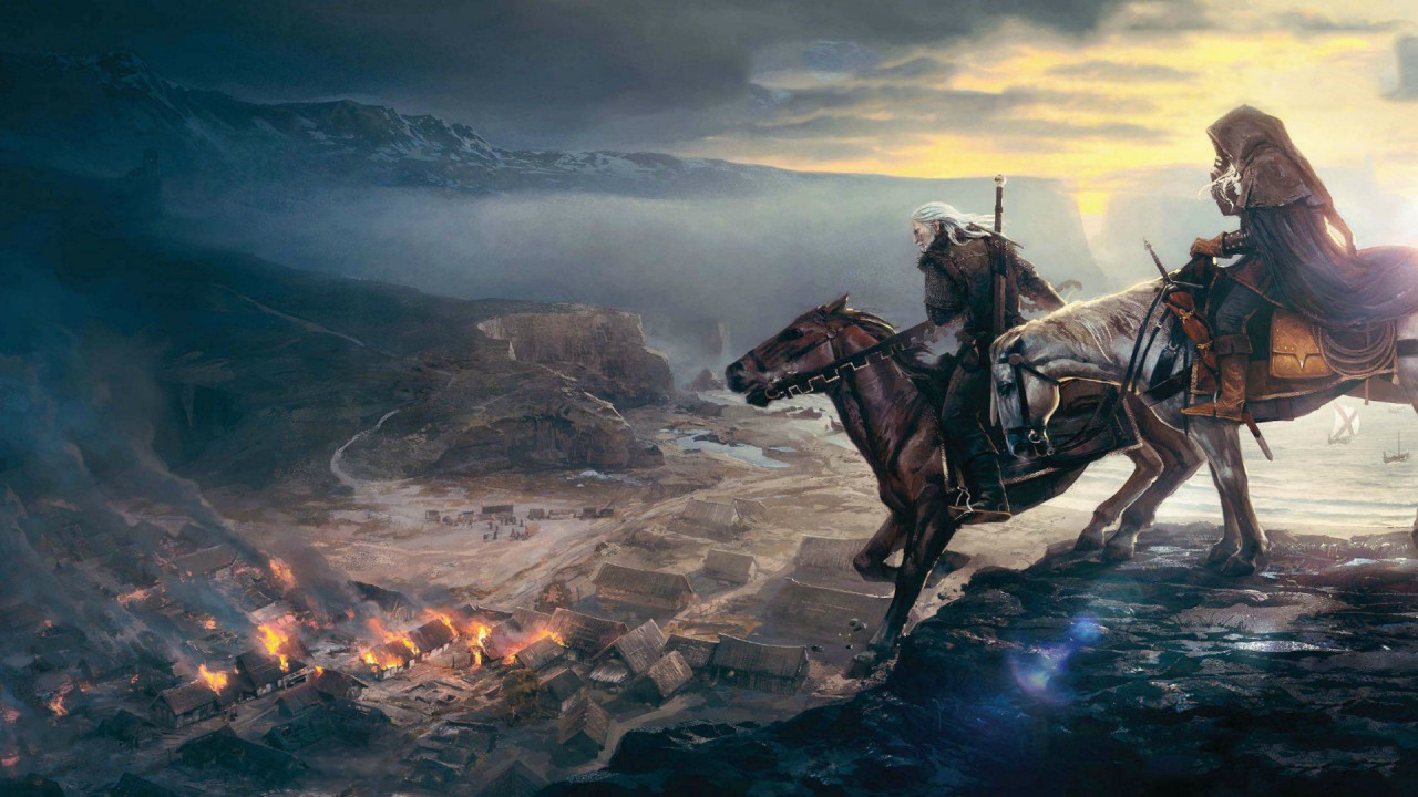 The Witcher 3 Artwork Cavallo