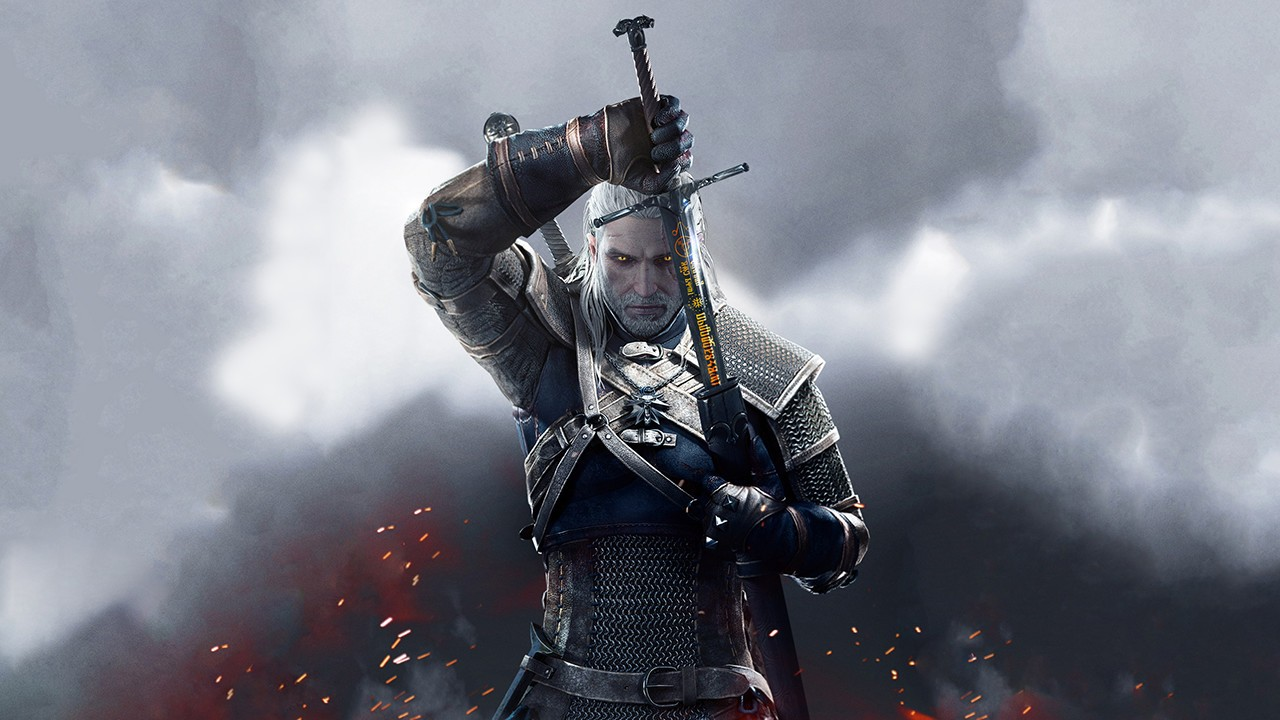 The Witcher 3 Geralt Spada