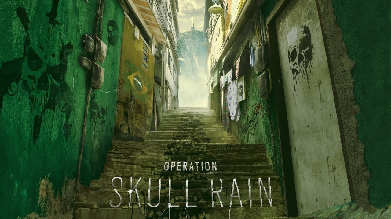 Tom Clancy's Rainbow Six Siege Operation Skull Rain artwork