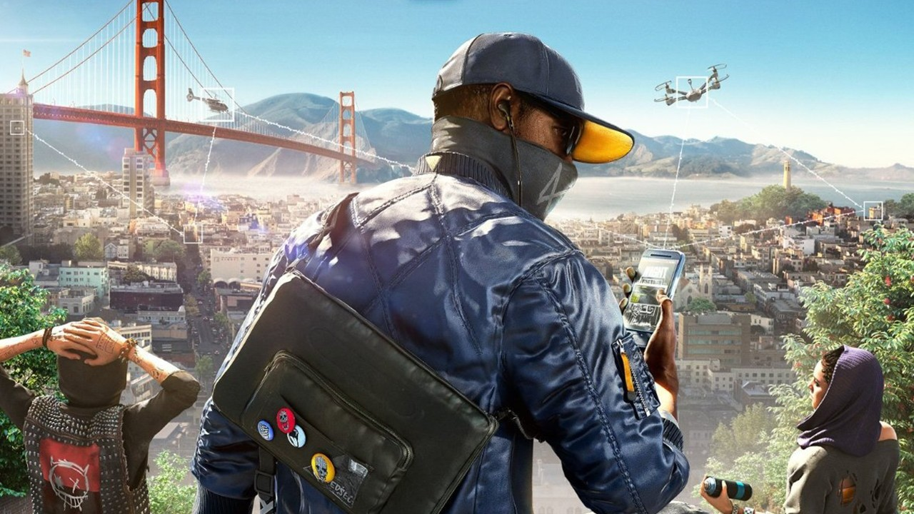 Watch Dogs 2 Main Art