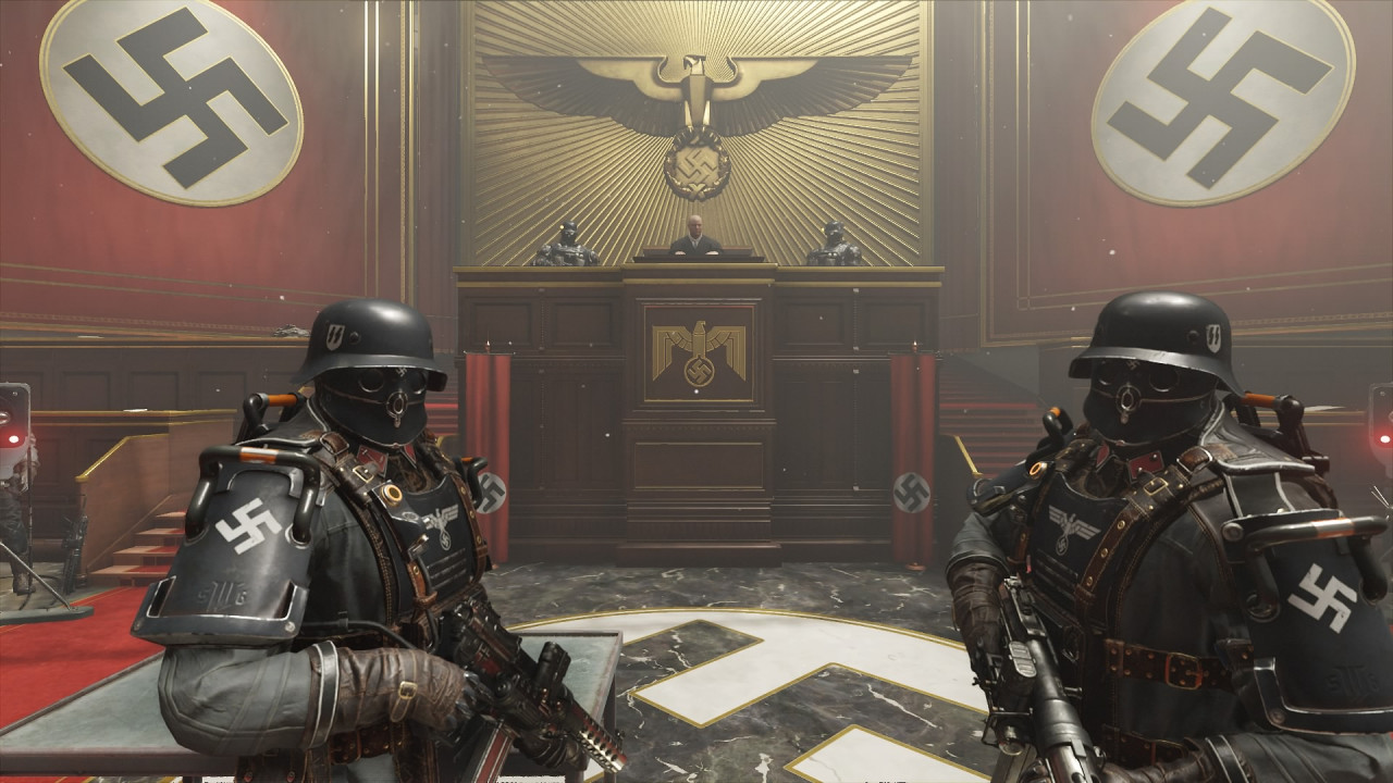 Wolfenstein II The New Colossus Svastica