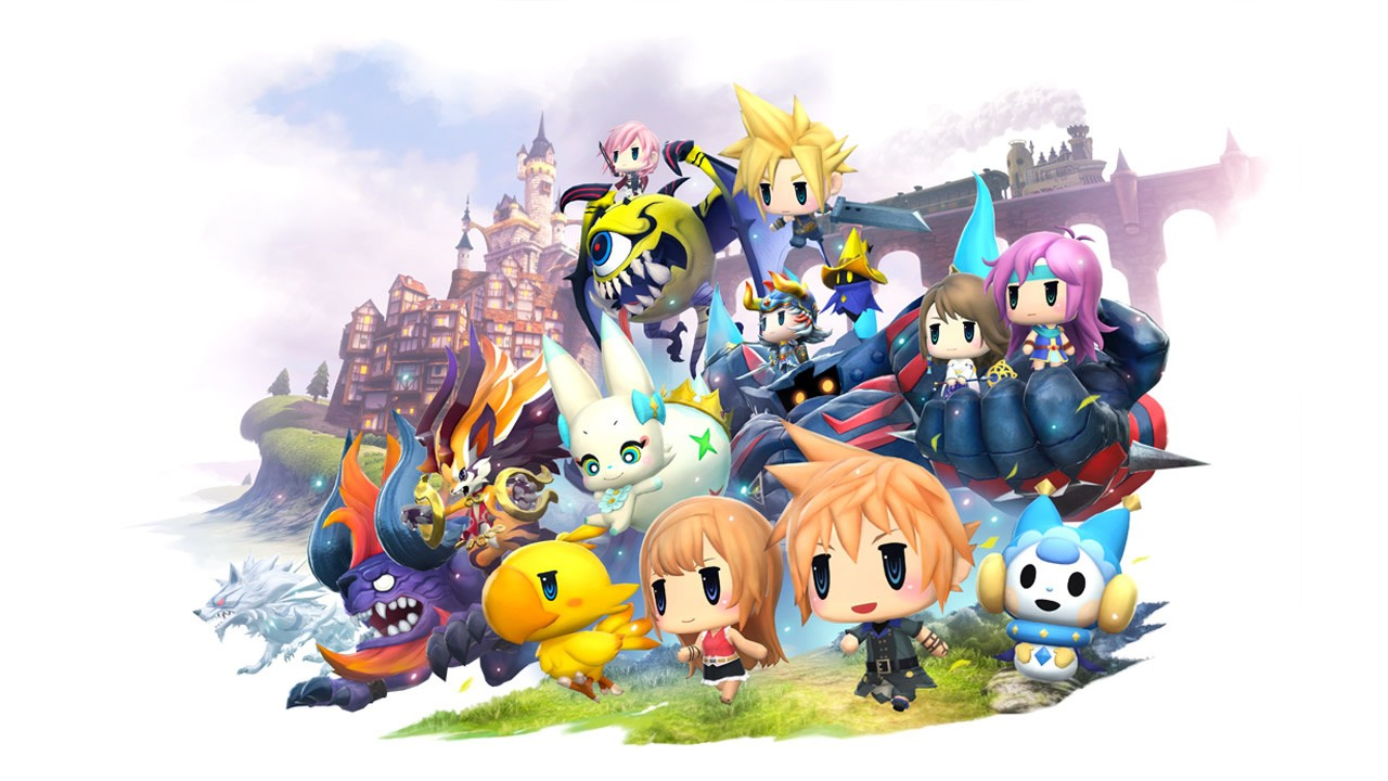 World of Final Fantasy Artwork