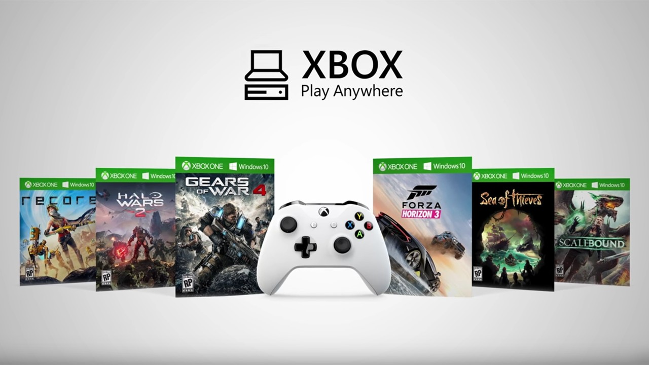 how to use xbox play anywhere