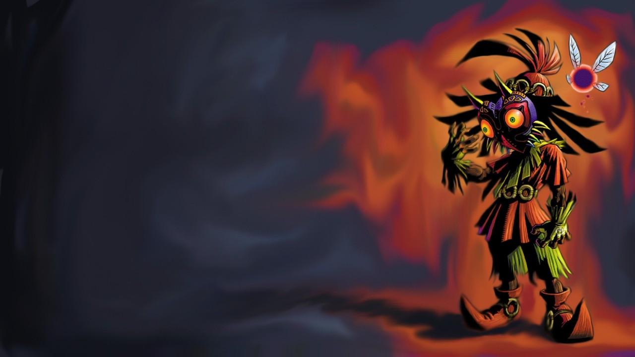 Zelda Skull Kid