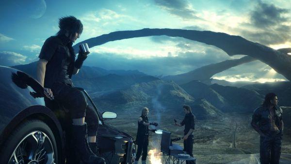 Final Fantasy XV Key Art