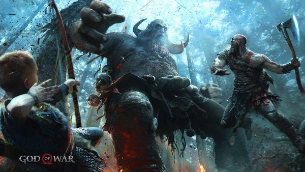 God of War PS4 Artwork