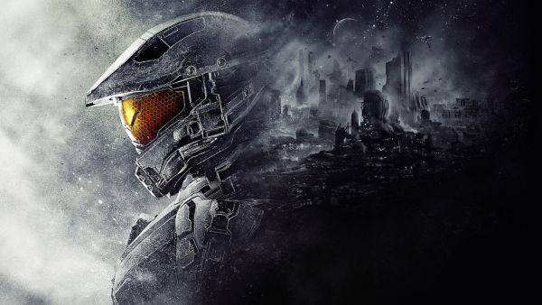 Halo 5: Guardians Main Art Master Chief