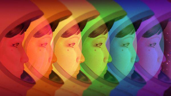 Headlander rainbow