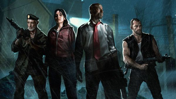 Left 4 Dead Personaggi Artwork