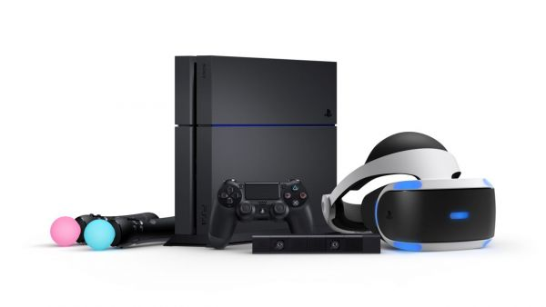 PlayStation 4 PS VR e PS Move