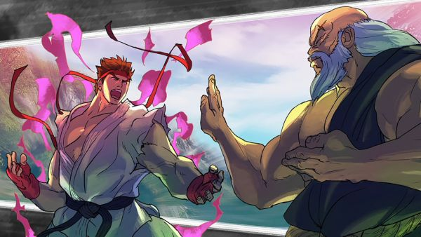 Street Fighter V Story Mode Art