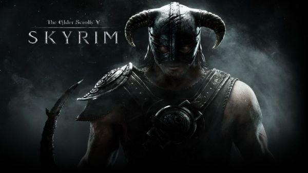 The Elder Scrolls V: Skyrim Art logo