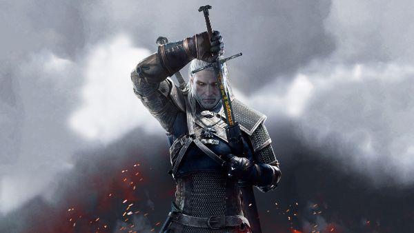 The Witcher 3 Geralt Spada