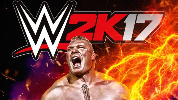 WWE 2K17 Main Art